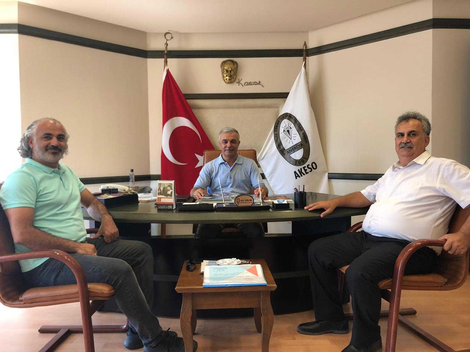 Muratpaşa Mesleki Eğitim Müdürümüzün Ziyareti